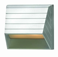 Hinkley 1524MW Deck & Step Modern Square Matte White Exterior Deck Sconce