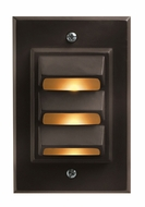 Hinkley 1542BZ Deck & Step Bronze Vertical Deck Light