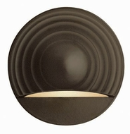 Hinkley 1549BZ Deck & Step Round Bronze Exterior Wall Sconce