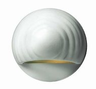 Hinkley 1549MW Deck & Step Matte White Round Outdoor Wall Light Fixture
