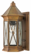 Hinkley 2290SN Brighton Small Exterior Wall Sconce with Dark Sky Option