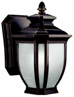 Kichler 11001RZ Salisbury Fluorescent Rubbed Bronze Lantern Outdoor Light Sconce