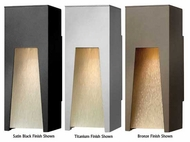 Hinkley 1760 Kube Small Outdoor Wall Sconce