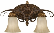 Feiss VS10902-ATS Sonoma Valley Traditionall 2 Light 11 inch Aged Tortoise Shell Vanity Fixture