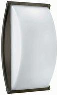 Hinkley 1655BZ Atlantis 1 Light 15 Inch Contemporary Outdoor Wall Sconce in Bronze