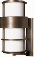 Hinkley 1905MT Saturn 1 Light 20 Inch Contemporary Outdoor Wall Sconce in Metro Bronze