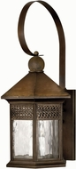 Hinkley 2996SN Westwinds 3 Light 27 Inch Rustic Outdoor Wall Sconce