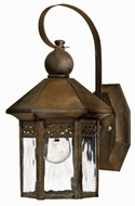 Hinkley 2989SN Westwinds 1 Light 11 Inch Rustic Outdoor Wall Sconce