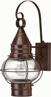 Hinkley 2200SZ Cape Cod 1 Light 18 Inch Outdoor Nautical Wall Sconce in Sienna Bronze