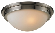 ELK 11440/2 Flushmounts Brushed Nickel Transitional Ceiling Light Fixture