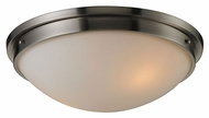 ELK 11441/2 Flushmounts Brushed Nickel 16 Inch Diameter Transitional Ceiling Light