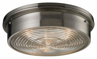 ELK 11463/3 Flushmounts Brushed Nickel 15 Inch Diameter Flush Mount Ceiling Light