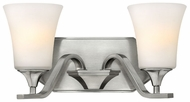 Hinkley 5362BN Brantley Transitional 14 Inch Long 2 Light Sconce