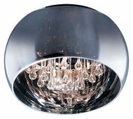 ET2 E21200-10PC Sense Small 15 Inch Diameter 5 Lamp Modern Flush Lighting