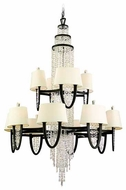 Corbett 130024 Viceroy 24-Lamp Crystal Chandelier in Royal Bronze