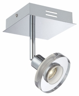 Lite Source LS16998 Elettra Chrome Finish LED 4 Inch Wide Ceiling Lighting