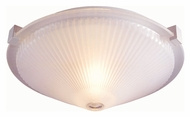 Lite Source LS5372FRO Sanddollar Flush Mount 16 Inch Diameter Ceiling Lighting Fixture