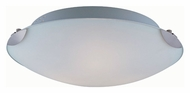 Lite Source LS5387PS/FRO Fonda 16 Inch Diameter Polished Steel Finish Overhead Lighting Fixture