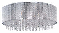 ET2 E23132-10PC Spiral Flush Mount 22 Inch Diameter Polished Chrome Overhead Lighting