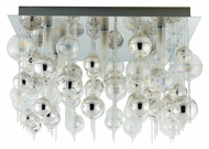 EGLO 89159A Morfeo Contemporary 21 Inch Wide Chrome Overhead Lighting - Large