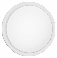 EGLO 82958A Planet White Transitional 11 Inch Diameter Sconce Lighting - Small