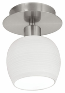 EGLO 90115A Bantry White Opal Frost Glass 4 Inch Diameter Wall Or Ceiling Light