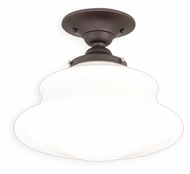 Hudson Valley 3412F-OB Petersburg Medium 12 Inch Diameter Old Bronze Finish Ceiling Light Fixture
