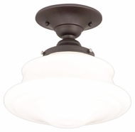 Hudson Valley 3416F-OB Petersburg 16 Inch Diameter Old Bronze Finish Large Overhead Lighting