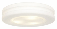 Access 50186-WH/OPL Altum�10 Inch Diameter Small White Ceiling Mount Flush Lighting