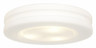 Access 50188-WH/OPL Altum�Large 15 Inch Diameter White Flush Mount Ceiling Light