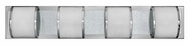 Fredrick Ramond 56564PCM Mira Mesh Large 4-light Bath Lighting Fixture
