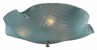 Meyda Tiffany 132122 Organic 13 Inch Wide Art Glass Flush Ceiling Light Fixture