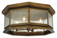 Meyda Tiffany 129760 Manchester Flush Mount 29 Inch Diameter Brass Ceiling Lighting