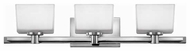 Hinkley 5023 Taylor 3-lamp Contemporary Vanity Light
