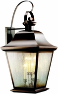Kichler 9703OZ Mount Vernon Olde Bronze Hanging Outdoor Wall Fixture - Largest (32.5 )