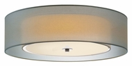 Sonneman 6014.13F Puri Large 22 Inch Diameter Satin Nickel Flush Mount Lighting