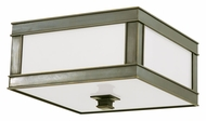 Hudson Valley 4210 Preston Small Transitional 10 Inch Wide Square Flush Lighting Fixture