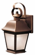 Kichler 10909OZ Mount Vernon Olde Bronze Fluorescent Hanging Outdoor Wall Fixture - Medium (17 )