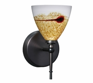 Mia Wall Lamp with Java Glass
