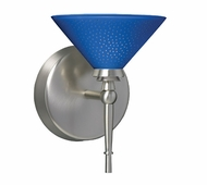 Kona Wall Lamp with Blue Starpoint Glass
