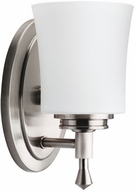 Kichler 5359-NI Wharton Brushed Nickel Contemporary Wall Sconce