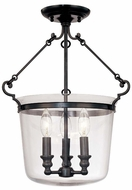 Hudson Valley 130 Quinton by Williamsburg Round 3 Light Small Foyer Pendant Light Fixture