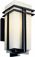 Kichler 49203BKFL Tremillo Art Deco Fluorescent Outdoor Wall Fixture - Largest (20.5 )