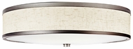 Kichler 10824CP Ceiling Mount Champagne Transitional Fluorescent 22 Inch Diameter Flush Lighting