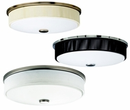 Kichler 10886 Santiago 3 Light 17 Inch Diameter Overhead Flush Light Fixture