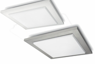 Philips Roomstylers Light Diffusing Fluorescenet Contemporary Square Flush Lighting Fixture