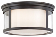 Quoizel WLS1615PN Wilson Medium 15.5 inch Diameter Flush Ceiling Lighting