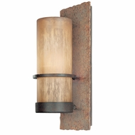 Troy BF1851BB Bamboo Fluorescent Medium Outdoor Rustic Wall Sconce