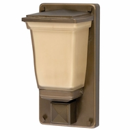 AFX GGWH113RBSCT Glasgow Fluorescent Outdoor Pocket Sconce