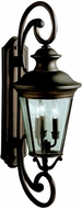 Kichler 9348OZ Eau Claire Outdoor Wall Fixture - Small (32 )